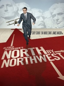 "Poster for ""North by Northwest"""