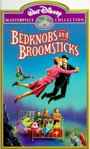"""Poster for """"Bedknobs and Broomsticks"""""""