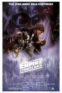 "Poster for ""Star Wars: Episode V - The Empire Strikes Back"""