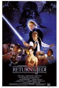 "Poster for ""Star Wars: Episode VI - Return of the Jedi"""
