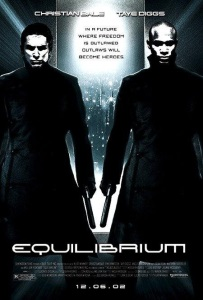 """Poster for """"Equilibrium"""""""