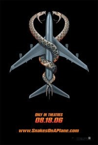 "Poster for ""Snakes on a Plane"""