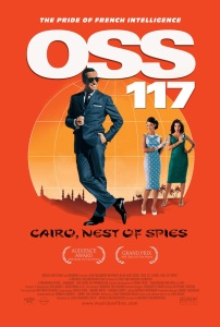"""Poster for """"OSS 117: Cairo, Nest of Spies"""""""
