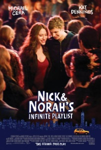 """Poster for """"Nick and Norah's Infinite Playlist"""""""