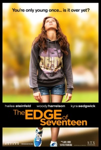 """Poster for """"The Edge of Seventeen"""""""