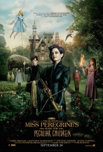 "Poster for ""Miss Peregrine's Home for Peculiar Children"""