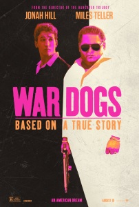 """Poster for """"War Dogs"""""""