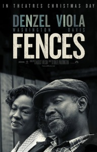 """Poster for """"Fences"""""""