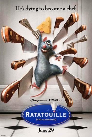 Poster for Ratatouille