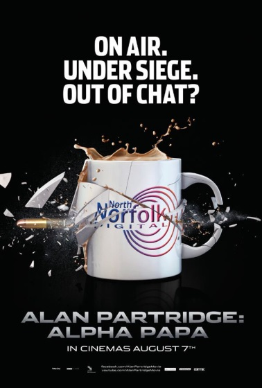 Poster for Alan Partridge: Alpha Papa