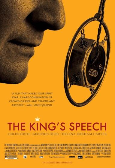 Poster for The King's Speech