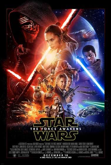 Poster for Star Wars: Episode VII - The Force Awakens